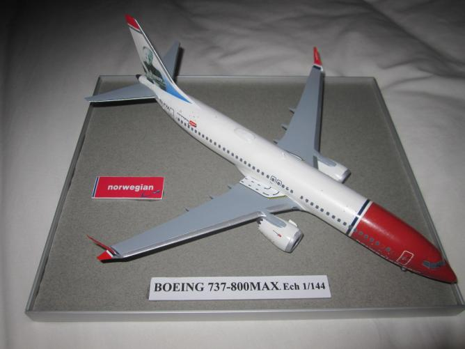 BOEING 737-800MAX NORVEGIAN